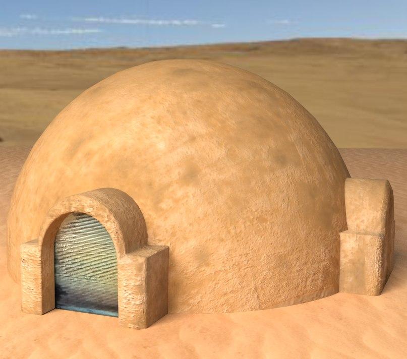 3d building tatooine