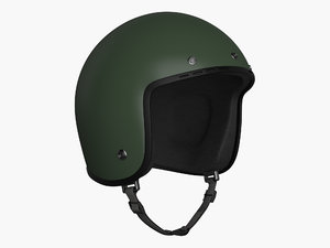 3d helmet polys model