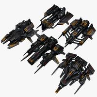 5 Attack Drones