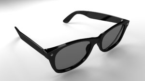 sunglasses glasses 3d obj