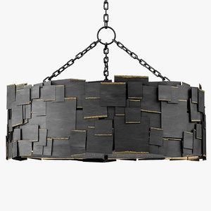 3d 46792 monty chandelier lighting