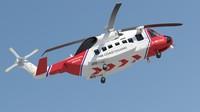 Sikorsky S 92 Coastguard Rescue