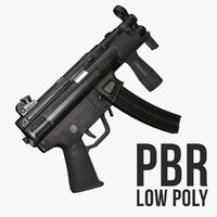 MP5k Low Poly