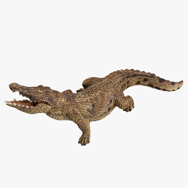 3ds max crocodile toy