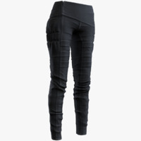 3d model women pants