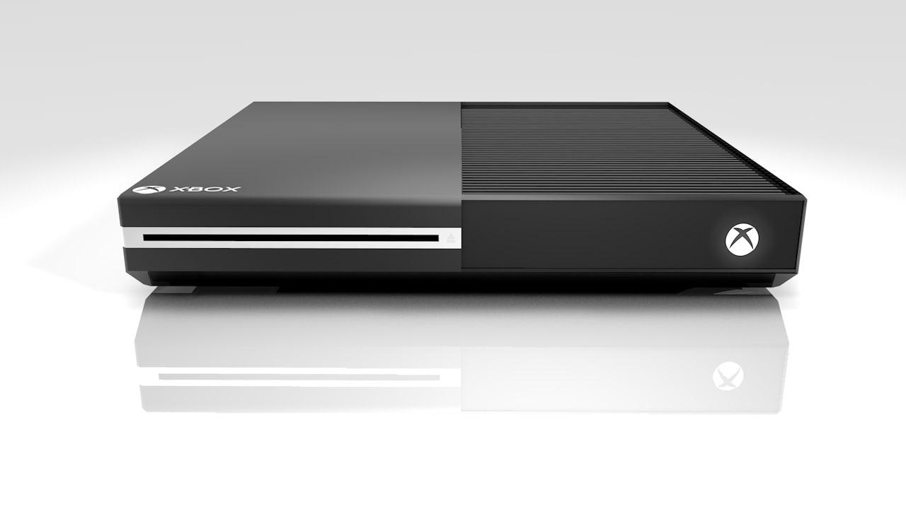 xbox console 3d model