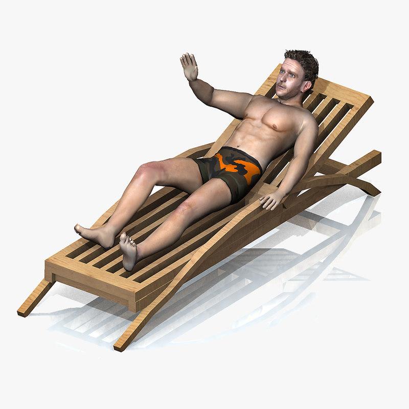 beach rigged chair max