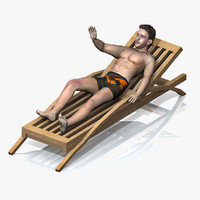 beach rigged chair max