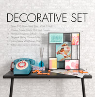 Wild&Wolf decortive set