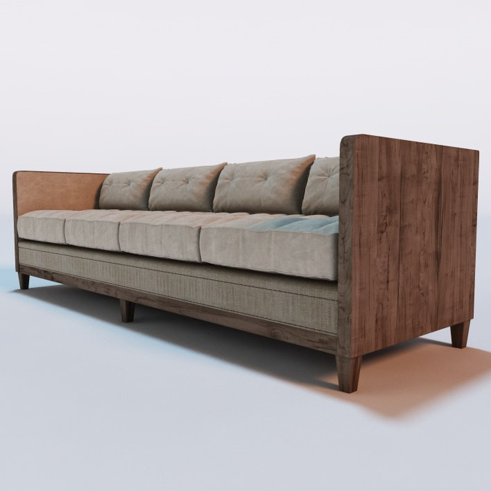3d model aldeburgh sofa