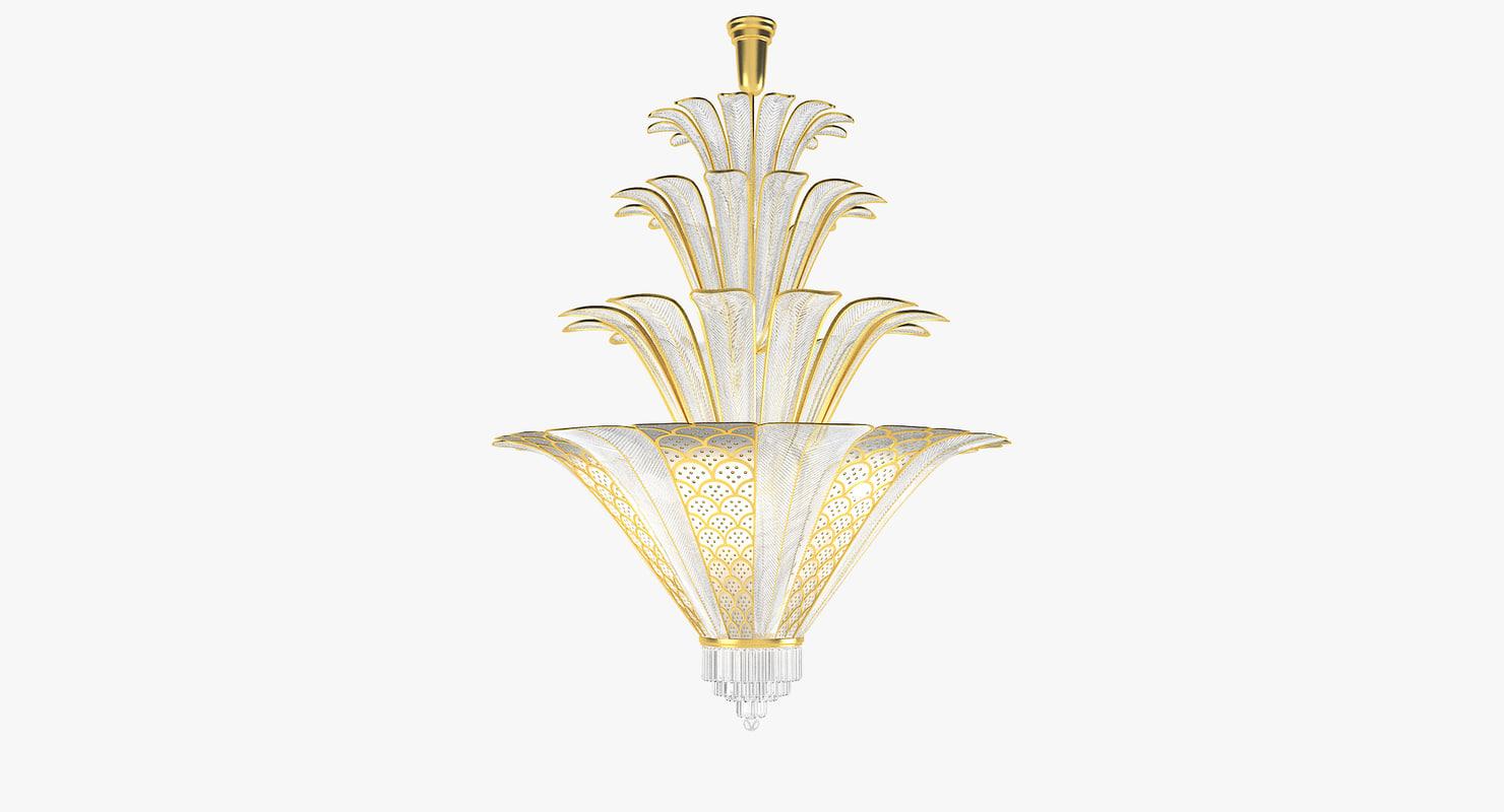 dotzauer 6740 chandelier 3d obj