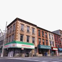 3d city block b street