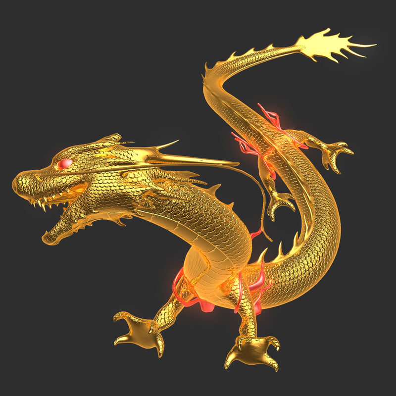 Dragon 3D Models For Download TurboSquid
