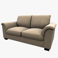 3d ikea tidafors sofa model