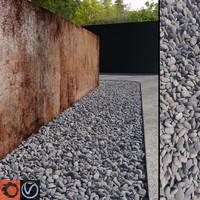 max grey pebbles