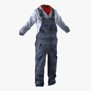 3ds max worker clothes 2