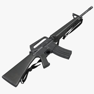 max assault rifle m16 5