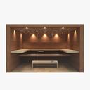 spa interior 3D models