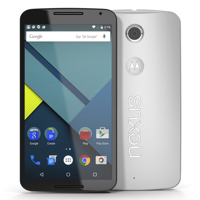 google nexus 6 white ma