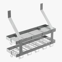 3d kitchen shelf 3