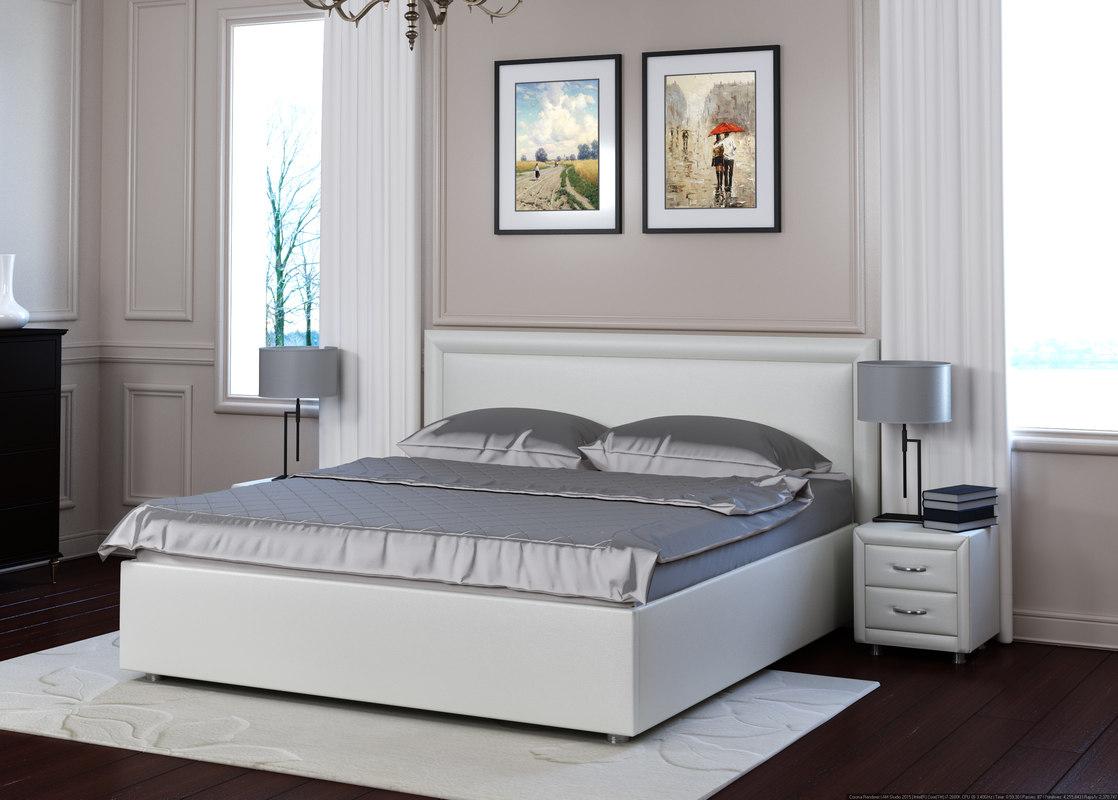 Modern bed mechanism 3d model