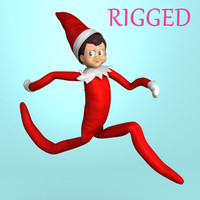 Elf on the Shelf Rigged