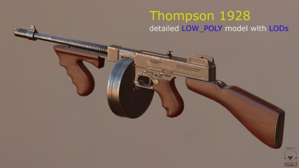 3d model of thompson 1928
