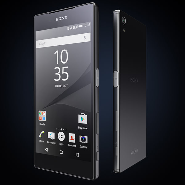 3dsmax flagship smartphone sony xperia