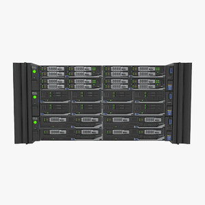 3d model dell poweredge fx2