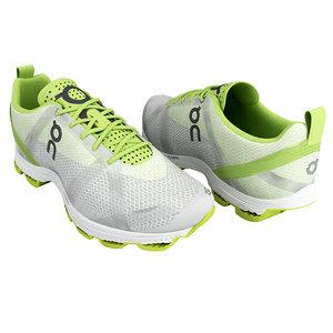 shoe sport cloudracer 3d model