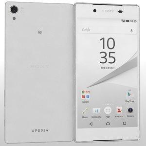 3d sony xperia z5 white
