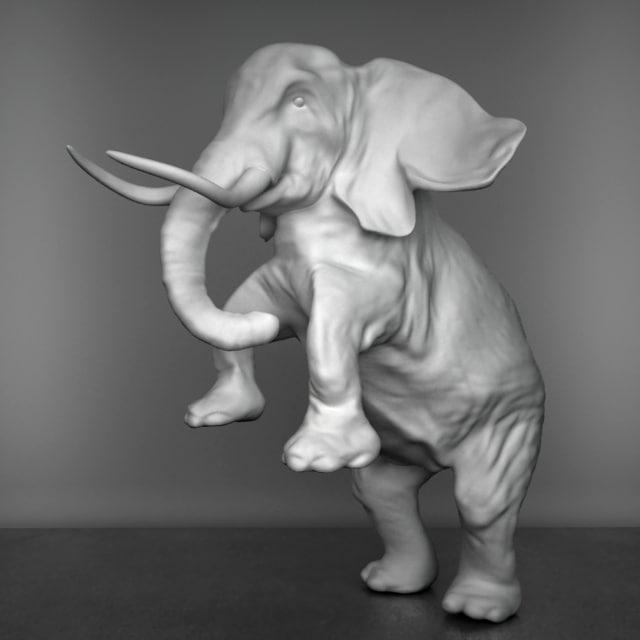 max elephant sculpture