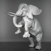 max elephant sculpture