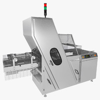 band slicing machine 3d model