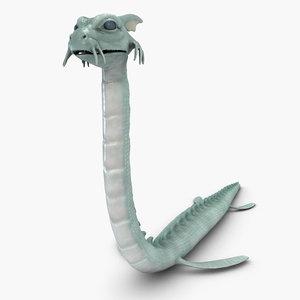 3d sea creature