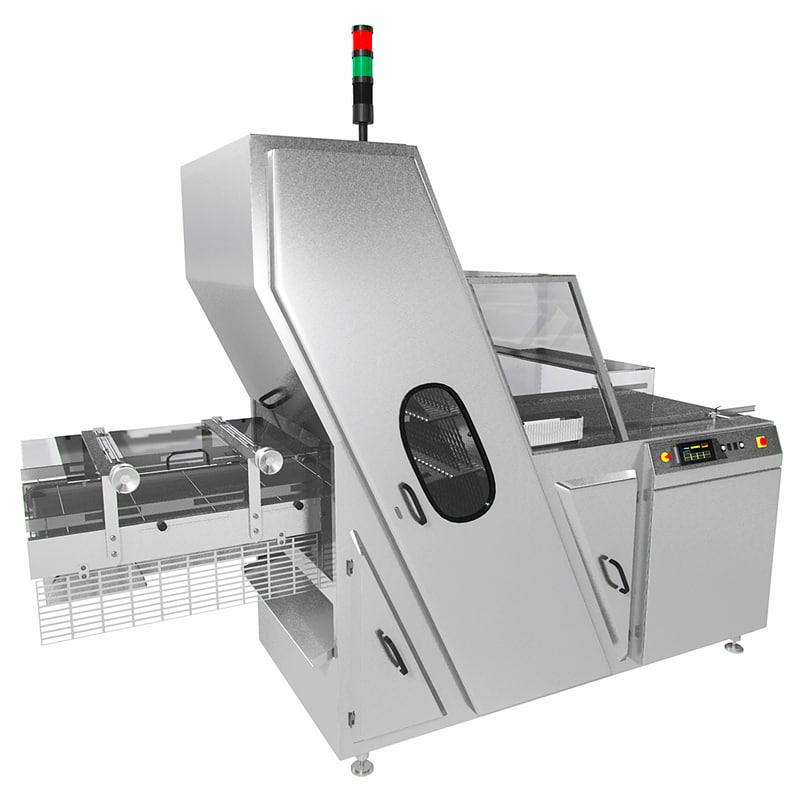 band slicing machine 3d model