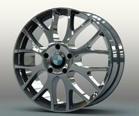 original m series rim wheel 3d model