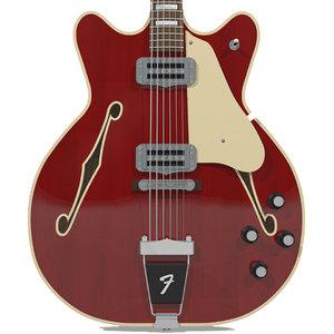 guitar fender wildwood 3d model