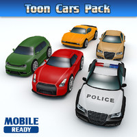 Toon Cars Pack