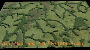 max landscape kamerun modeled