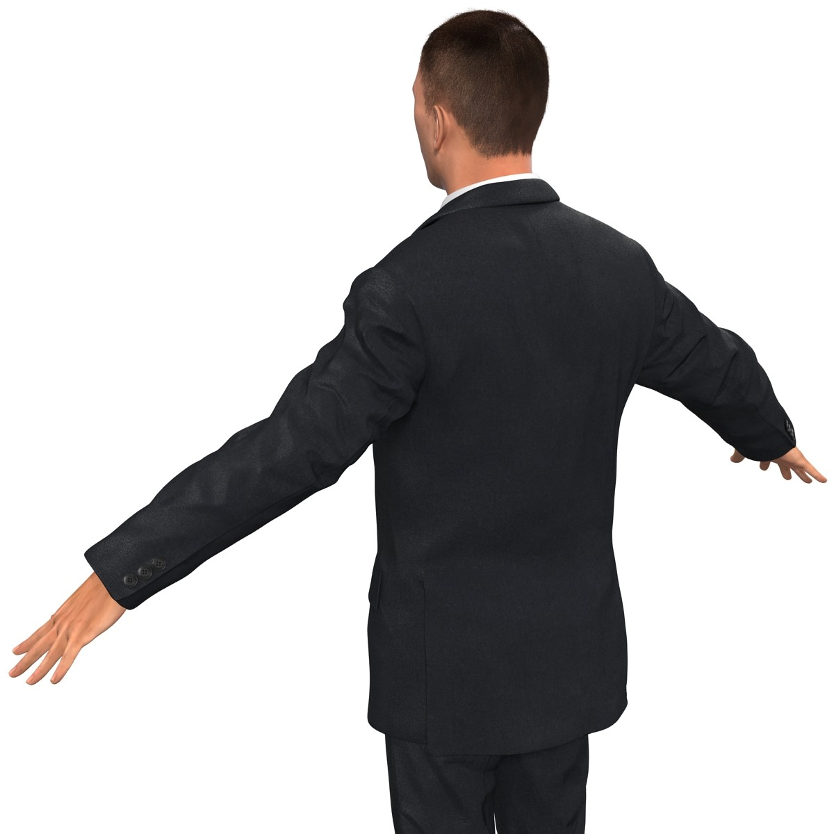 rigged business people businessman 3d model
