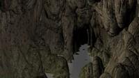 cave scene 3d max