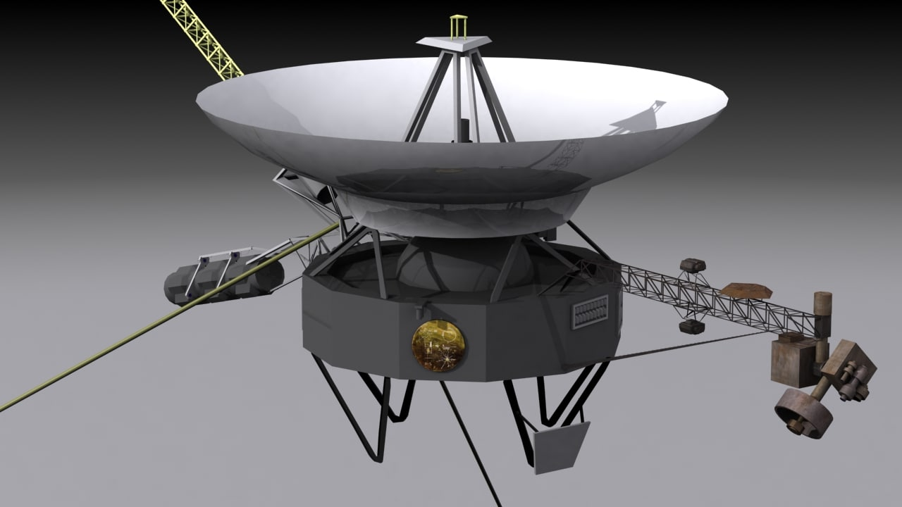 space probe voyager - 1280×720