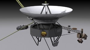 voyager space probe 3d model