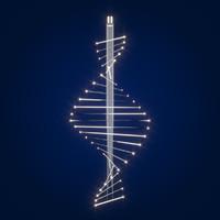 DNA Chandelier Light Fitting