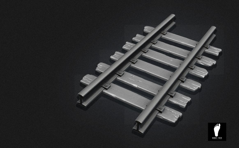 sculpted railroad track max