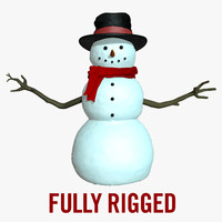 Snowman Rigged