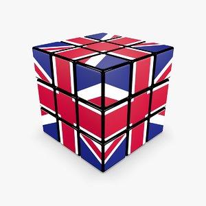 cube - rubik 3ds