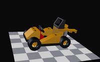 3d model kart lego