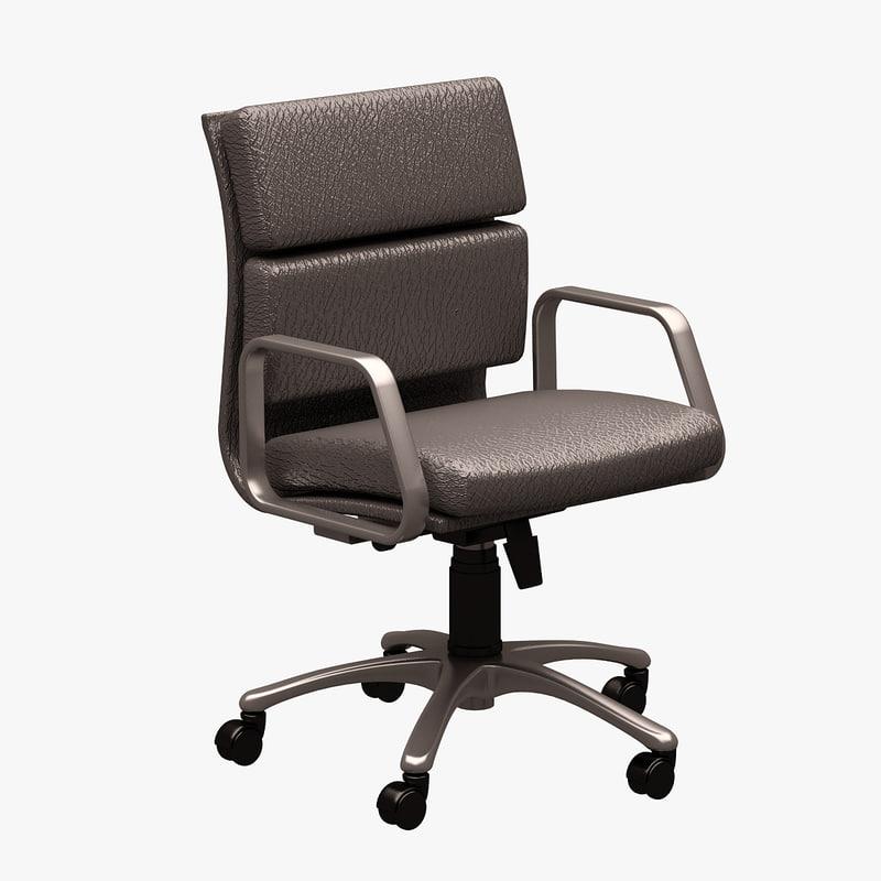 office chair 3d fbx